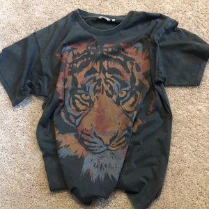 Wrangler & Free People Tiger T-shirt XS